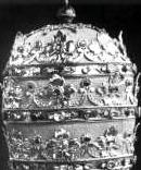 The Papal Tiara Pope Hat 666